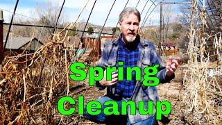 Spring Garden Cleanup - Part 1