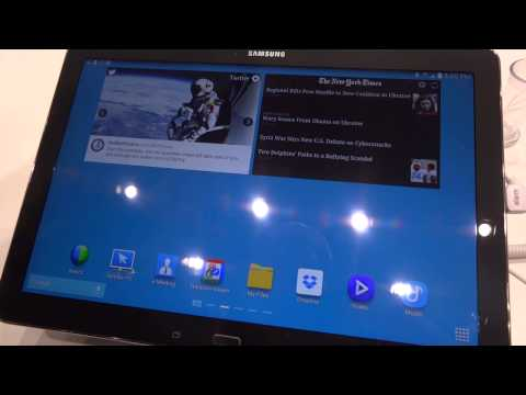 MWC 2014: Samsung Galaxy Note Pro 12.2, video anteprima