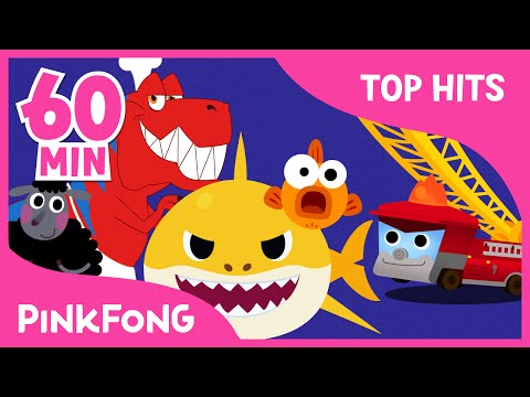 Baby Shark and 50+ Songs   + Compilation   PINKFONG Songs for Children