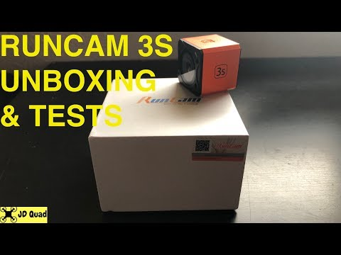 Runcam 3S Unbox & Tests - Courtesy of Banggood