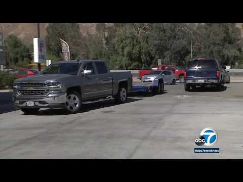 Colton gas station owner furious over trees removed on his property | ABC7