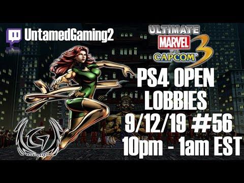 Retro Throwback UMVC3 PS4 Open Lobbies #56 9/12/19