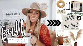 FALL 2020 HOME DECOR PLAN & SHOP #WITHME | NEUTRAL COZY FALL HOME DECOR INSPO | KAILYN CASH