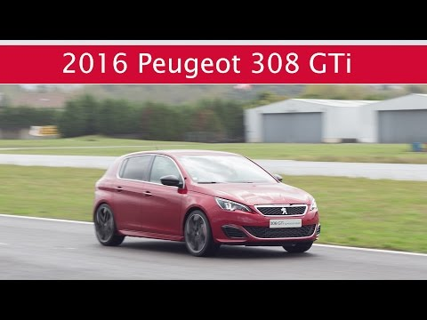All-New Peugeot 308 GTi on Braga Circuit (Wet Lap)
