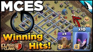MASS Witch Quad Quake! MCES Wins Dreamhack Montreal! | Clash of Clans