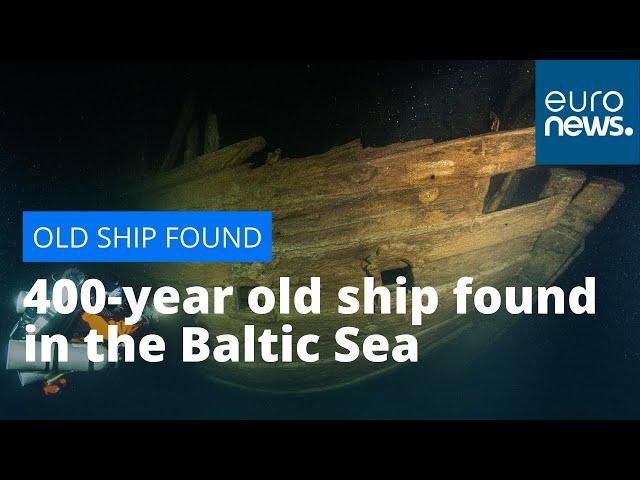 На дне Балтики найден идеально сохранившийся парусник возрастом 400 лет
