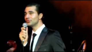 Darius Campbell singing  You Make Me Feel So Young