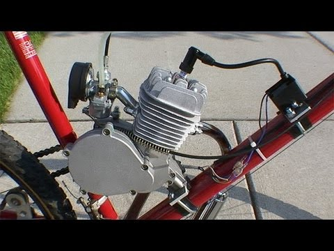 How to Build a Motorized Bicycle - Part 3