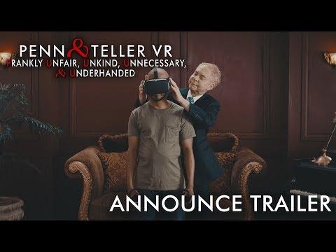 Penn & Teller VR: F U, U, U, & U Trailer