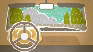Rain on Car Baby Sleep Sound   White Noise to Calm Colicky, Crying Infant   10 Hours