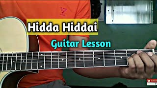 Hidda hiddai - Guitar lesson ( 1974ad)
