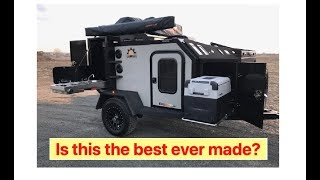 Is This The Best Ever Made??? Off Grid Trailers Made In CANADA : SEMA 2019