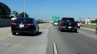 Interstate 10 - Louisiana (Exits 166 to 159) westbound