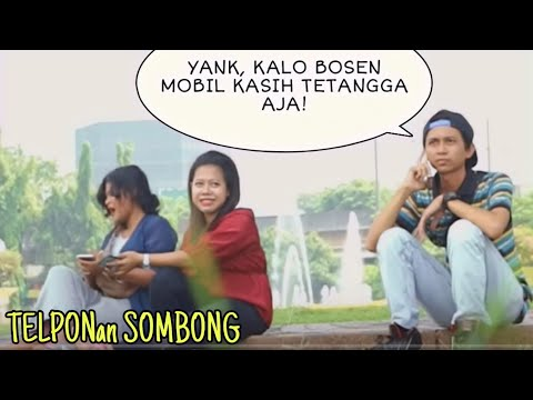 DownloadTELPONAN SOMBONG DISAMPING ORANG | Prank IndonesiaHD Mp4 3GP Video and MP3