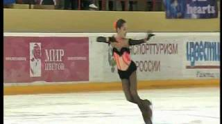 Evgenia MEDVEDEVA 2012 SP Russian Nationals