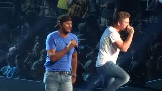 "Luke Bryan  And Morgan Wallen In Kansas City ""Up Down"" 82618"