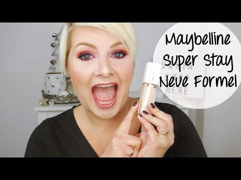 MAYBELLINE SUPER STAY 24H MAKE-UP NEU ♡ Test