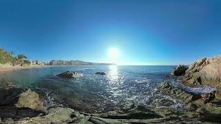 Видео 360 градусов. Природные и культурные объекты Испании в панорамном видео от Снегирей VR.