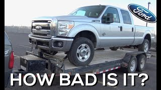 SALVAGE AUCTION 2011 Ford F350 - 6.7 Powerstroke NO START!