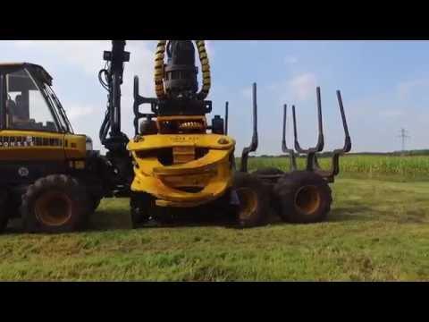 Forstbetrieb Hagenah: Ponsse & GMT035