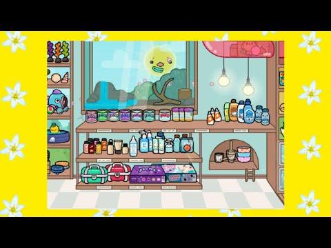 🌈обустройство магазин слаймов🍋 в toca life : world
