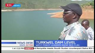 Concerns over dropping Turkwel dam water levels as West Pokot leaders raise red flag