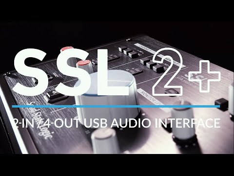 SSL 2+ USB Audio Interface