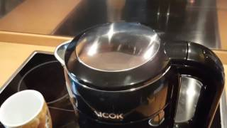 Aicok Wasserkocher Edelstahl 2200 Watt
