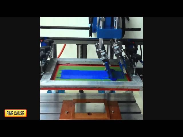 FA-400T/500T/600T Flat Platform Screen Printer