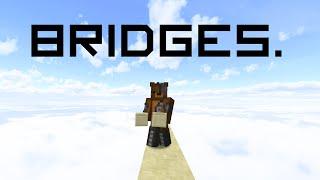 All bridging techniques in Minecraft!