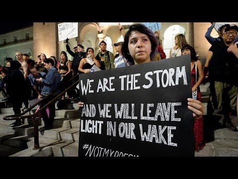ΗΠΑ: Μια ακόμα νύχτα διαδηλώσεων ενάντια στην εκλογή Τραμπ