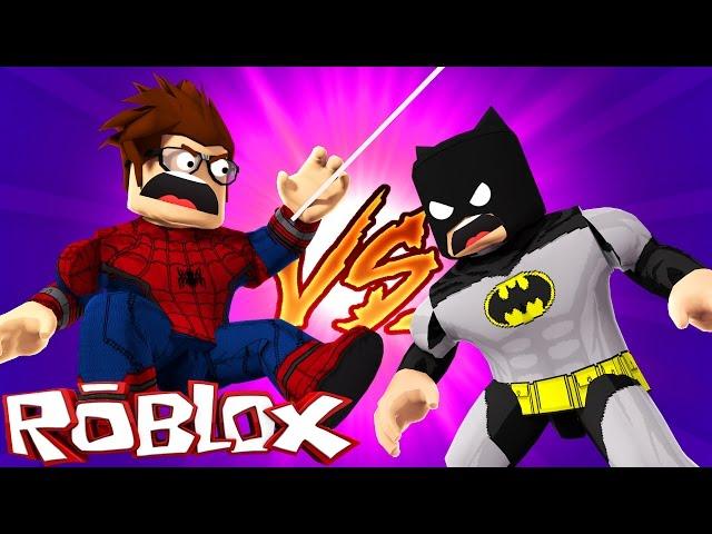 Homem-aranha-vs-batman