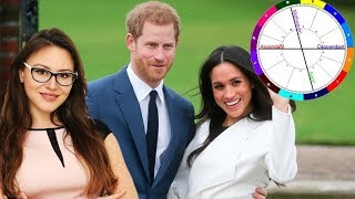 Prince Harry & Meghan Relationship. Soulmates or Not? Astrology Compatibility  with Astrolada