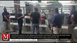 Edi Obama dan Tiyong Cs Kembali Datangi Rumah Dinas Plt. Gubernur Aceh