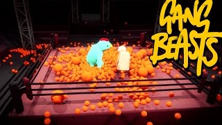 Gang Beasts - Orange Takeover [Father And Son Gameplay]