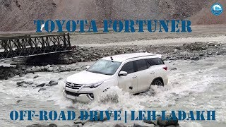 Toyota Fortuner | Off-road Drive | Leh Ladakh | 4K