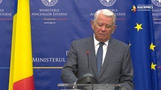Meleşcanu, despre mitingul diasporei: Nu înţeleg foarte bine care este obiectivul protestului