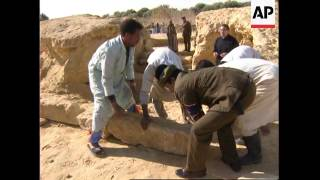 EGYPT: ALEXANDER THE GREATS TOMB DISCOVERY