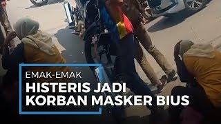 Viral Video Emak-Emak Nangis Jadi Korban Bius Pemberi Masker Gratis, Motornya Raib Digondol Maling