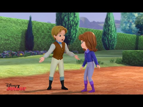 Sofia The First | When You Wish Upon A Well | Royal Obstacle Course | Disney Junior UK HD