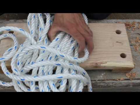 Fabriquer une balançoire en bois