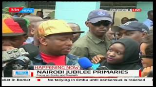 Mike Sonko blames Jubilee Party for failing to avail the IEBC register for supporters to vote