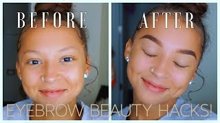 Eyebrow Tutorial for Thin Brows | BEGINNER FRIENDLY | Lexi Luxury