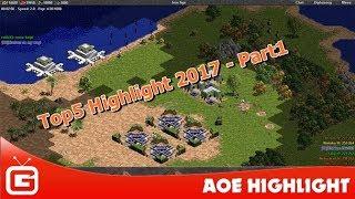 AOE HIGHLIGHT   Series những trận đấu Highlight đáng xem nhất năm 2017 - Phần 1