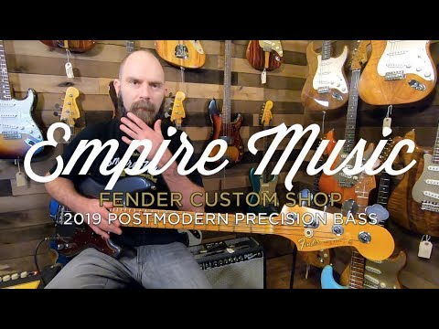Fender Custom Shop 2019 Postmodern Precision Bass - EMPIRE MUSIC