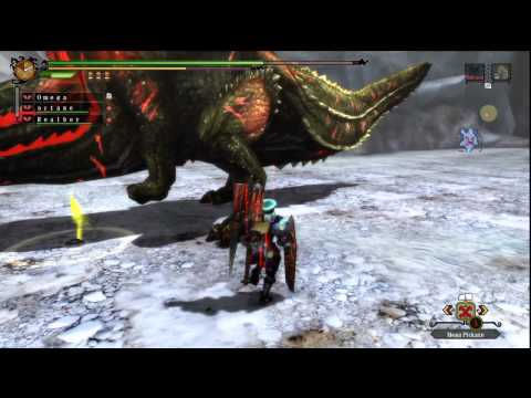 First Encounter With Savage Jho (Monster Hunter 3 Ultimate)