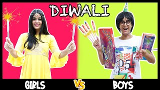 DIWALI: GIRLS VS. BOYS 💥 | ANISHA DIXIT | RICKSHAWALI