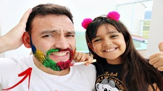 LEARN COLORS FOR CHILDREN BODY PAINT FINGER FAMILY SONG NURSERY RHYMES