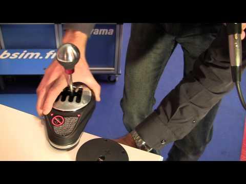 Thrustmaster - TH8A - Boite de Vitesse Réaliste Compatible avec PC PS3 PS4