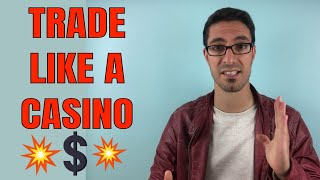 Edgy Trading Mentorship -Trade Like A Casino - Learn How To Trade - For Beginners